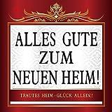 Udo Schmidt Aufkleber Flaschenetikett Etikett Alles Gute zum Neuen Heim