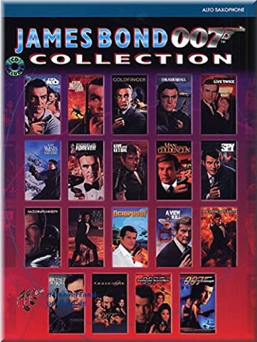 James Bond 007 Collection - Altsaxophon Noten