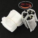 Kalolary 200pcs biodegradabili non tessuti borse vivaio pianta crescere borse ambientali tessuto piantina vasi piante sacchetto di casa fornitura giardino