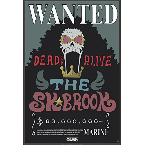 ONE PIECE - Poster Wanted Brook New (52x38)