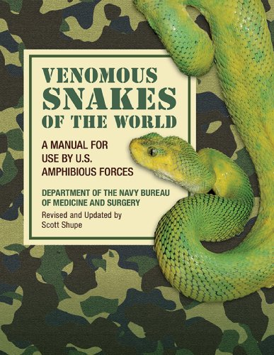 Venomous Snakes of the World: A Manual for Use by U.S. Amphibious Forces (English Edition)