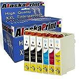 Alaska 6 Druckerpatronen Komp. für Epson T29XL 29 XL 29XL für Expression Home XP 342 345 245 442 332 235 432 445 435 335 247