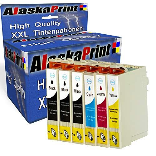 Alaska 6 Druckerpatronen Komp. für Epson T29XL 29 XL 29XL für Expression Home XP 342 345 245 442 332 235 432 445 435 335 247 Patronen tintenpatronen
