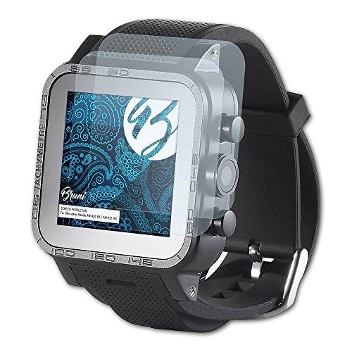 Bruni Schutzfolie für Simvalley-Mobile AW-420.RX/AW-421.RX Folie, glasklare Bildschirmschutzfolie (2X)