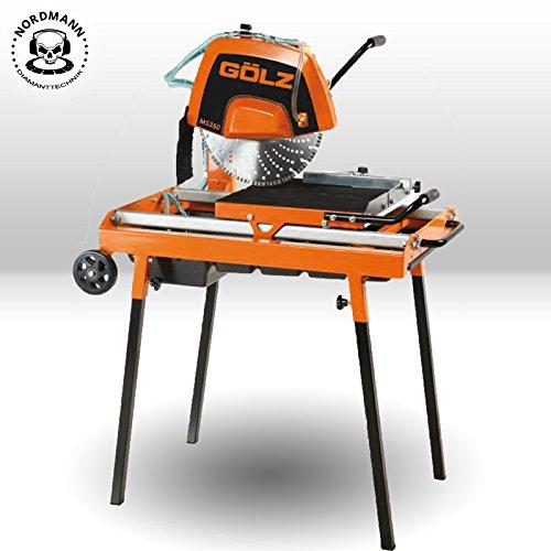 Preisvergleich Produktbild GÖLZ MS-350 Compact - Robuste Steintrennmaschine / Steinschneidemaschine - Made in Germany