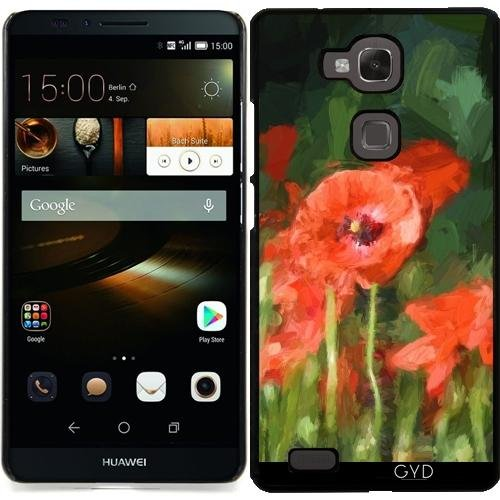 coque-pour-huawei-ascend-mate-7-monet-a-declare-coquelicots-1-by-utart