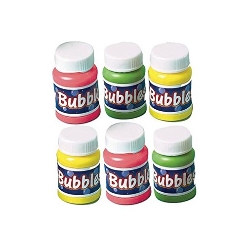 Amscan International - Confezione da 6 tubi di bolle di sapone per festa