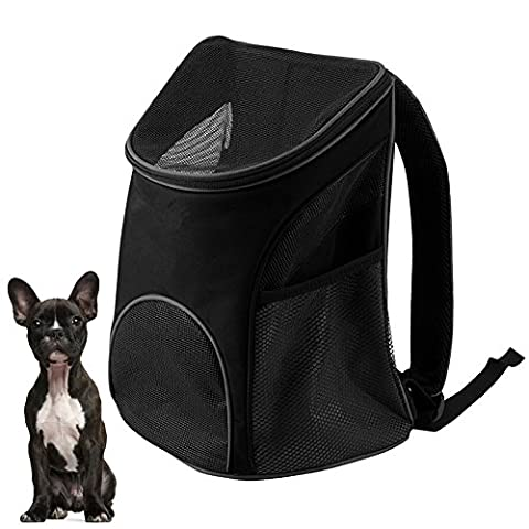 candora Kyjen Hund Katze Pet Carrier Travel Mesh Bag Wachhund, Tasche Hund Rucksack Carrier Pup Pack Traveler Carrier Verstellbare gepolsterte Schultergurt