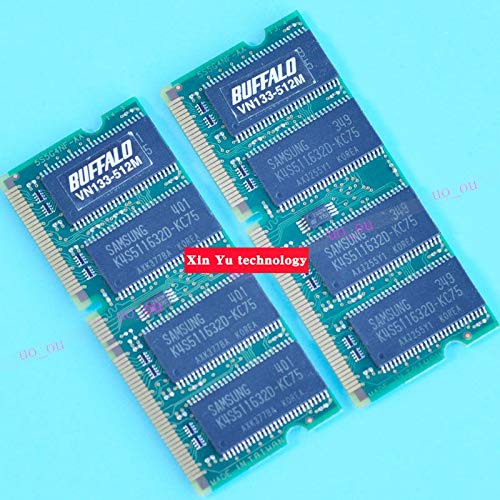 HAMISS SDRAM 512MB 133MHz chip PC-133 SD 512M Notebook Memory 5116 Laptop RAM Industrial PC 144PIN -