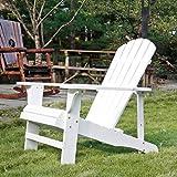 SFYLODS Adirondack Stuhl/Muskoka Stühle, für den Außenbereich, lackiertes...