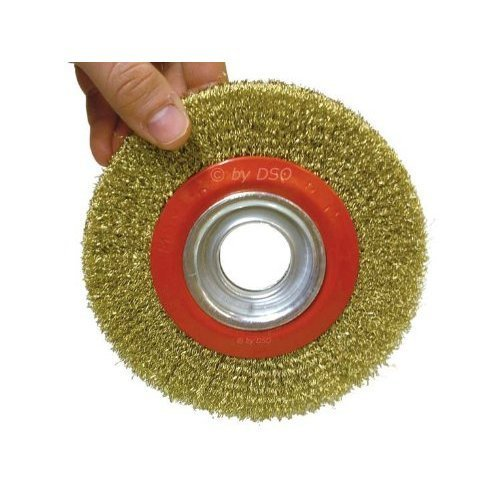 "Toolzone 6"" Wire Wheel For Bench Grinder Test"