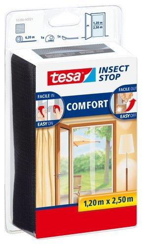 Tesa 55386-00021-00 zanzariere per porta, qualità comfort, antracite