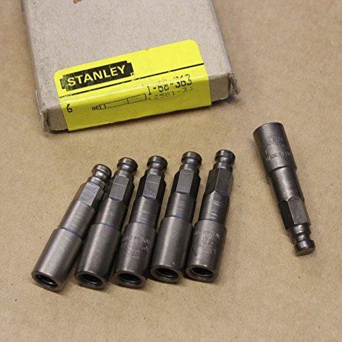 Adapter Insert Bit (6Stanley Desoutter 5/16Sechskant Adapter zu verwenden, 1/4Sechskant Schraubendreher Bit 1-68-363)
