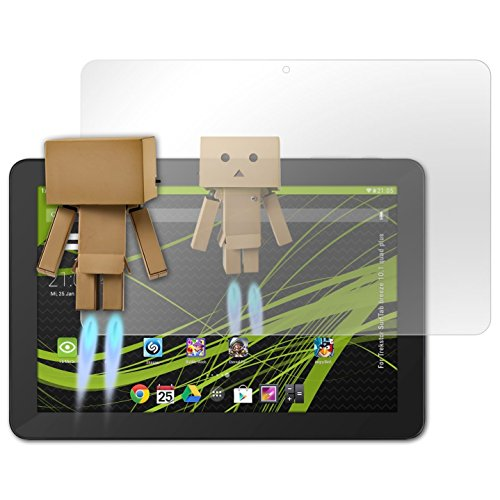 atFolix Bildschirmfolie kompatibel mit Trekstor SurfTab Breeze 10.1 Quad Plus Spiegelfolie, Spiegeleffekt FX Schutzfolie