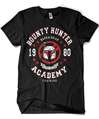 2187-Camiseta Star Wars - SW Mandalorian Bounty Hunter Academy (Olipop)