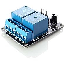 Neuftech módulo relay relé de 2 canales 5V Shield para Arduino PIC AVR DSP MCU