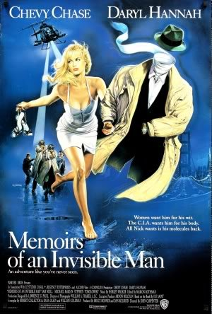 Memoirs of AN Invisible Man - U.S Movie Wall Art Poster Print - 43cm x 61cm / 17 Inches x 24 Inches A2