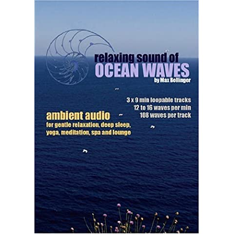 Relaxing Sound of Ocean Waves: Ambient Audio for Gentle Relaxation, Meditation, Deep Sleep, Yoga, Spa and