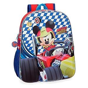 51DwSdlUneL. SS300  - Bolsa de viaje Mickey Race 40cm