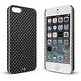 YOUNiiK Premium Case für Apple iPhone 5 / 5S - Carbon - Handyhülle Cover in einzigartiger Qualität, randlos bedruckt und extrem kratzfest