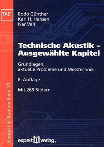 Kontakt Objektiv (Technische Akustik – Ausgewählte Kapitel: Grundlagen, aktuelle Probleme und Messtechnik (Kontakt &)