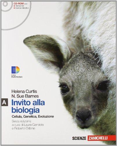 Invito alla biologia. Modulo A: Cellula, genetica, evoluzione. Per le Scuole superiori. Con CD-ROM. Con espansione online