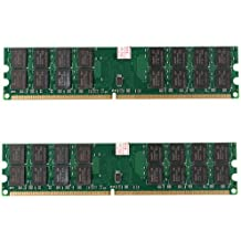 Memoria - TOOGOO(R)2x4GB DDR2-800MHz PC2-6400 240 PIN DIMM para memoria AMD CPU placa