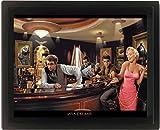 empireposter - Consani, Chris - Java Dreams  - Größe (cm), ca. 20x25 - 3D Poster A4, NEU - Beschreibung: - Die 3D Poster sind in einem hochwertigen Kunststoff-Profilrahmen gerahmt, mit Aufhänger auf der Rückseite und somit fertig zum Aufhängen. -