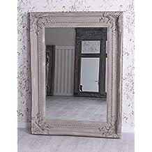 Spiegel Shabby Standspiegel Barockspiegel Wandspiegel 120x200cm Ankleidespiegel