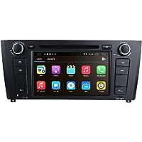 Autoradio 1 Lecteur DVD de Voiture Android 10 OS 2 Go + 16 Go pour BMW: E81 E82 E87 E88 avec écran Tactile capacitif de…