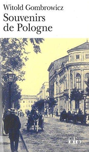 Souvenirs de Pologne par Witold Gombrowicz
