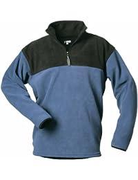 CRAFTLAND Fleece Shirt FALKE - marine/schwarz abgesetzt - Größe: M