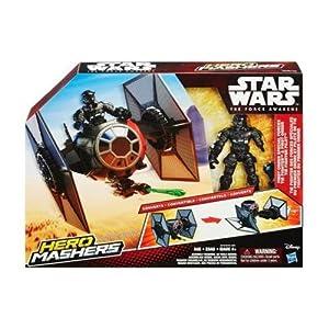 STAR WARS - Hero mashers vehículo de Ataque + Figura (Hasbro B3701)