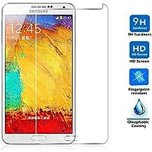 Protector de Pantalla para Samsung Galaxy Note 3 Cristal Vidrio Templado Premium, Electrónica Rey®