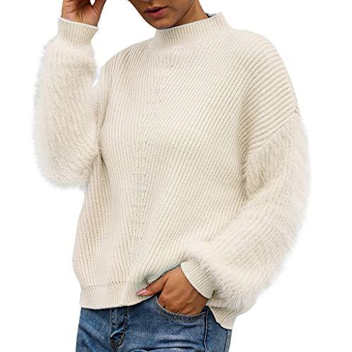 Boy Karate Kostüm - TAMALLU T-Shirts Für Frauen Modische Brief Sweater Jacke Sweatshirt Langarm Tee(Weiß,XL)