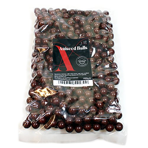 Just Treats Aniseed Balls (1 Kilo Share Bag)