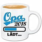 """Kaffeetasse """"LADEBALKEN OPA 2018 LOADING LÄDT - GROßVATER - UROPA"""