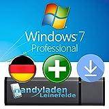 Microsoft® Windows 7 Pro ISO USB. 32 bit & 64 bit - Original Lizenzschlüssel mit bootfähigen USB Stick von - HANDYLADEN-LEINEFELDE®
