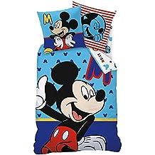 Mickey Mouse–Juego de cama reversible cremallera Mickey Mouse 135/200cm