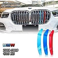 M-Color ABS Parrilla Rayas Insertos Rincones para G05 X5, 18-19 (