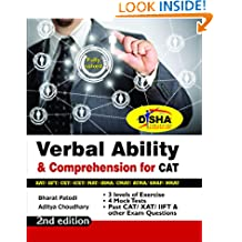 Verbal Ability & Comprehension for CAT/ XAT/ IIFT/ CMAT/ MAT/ Bank PO/ SSC 2nd Edition