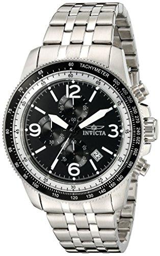 ialty' Quarz Edelstahl Automatik Uhr, Farbe: silberfarbene (Modell: 13960) (Invicta Kleid Uhren Für Männer)