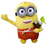 """Despicable Me 10"""" Dressed Minion Plush Figure - Minion in Shorts with Cocktail - TV & Film Character Toys - Despicable Me - amazon.co.uk"""