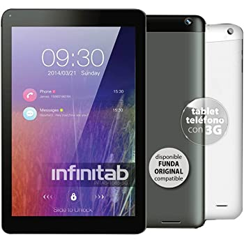 Infiniton 1088 3G 16GB 3G Color Blanco - Tablet (Tableta de tamaño Completo, Android