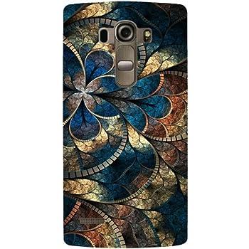 Casotec Fractional Pattern Design Hard Back Case Cover for LG G4 Stylus