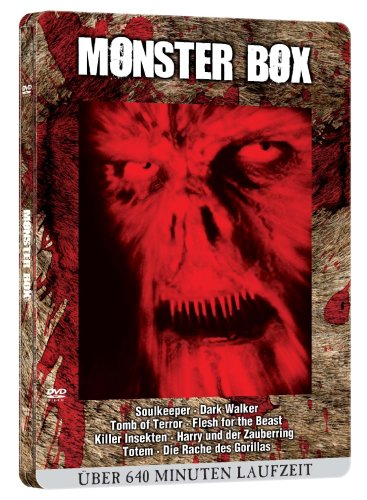 Monster DVD-Blutbox (Metallbox-Edition/ 8 Filme) [Edizione: Germania]