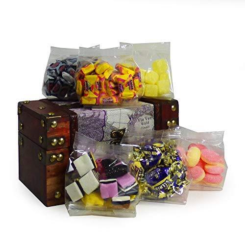 Retro-Süßigkeiten in einer weltweit einzigartigen Design-Aufbewahrungsschachtel (enthält 6 Beutel à 100 g) - Geschenkideen für Weihnachten, Geburtstag, Mama, Muttertag, Oma, Opa, Danke, Lehrer, Papa (Valentinstag Schokolade Für Lehrer)
