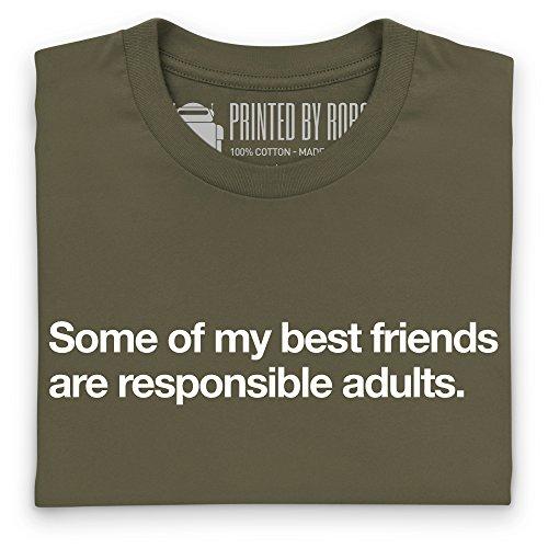 My Best Friends T-Shirt, Herren Olivgrn