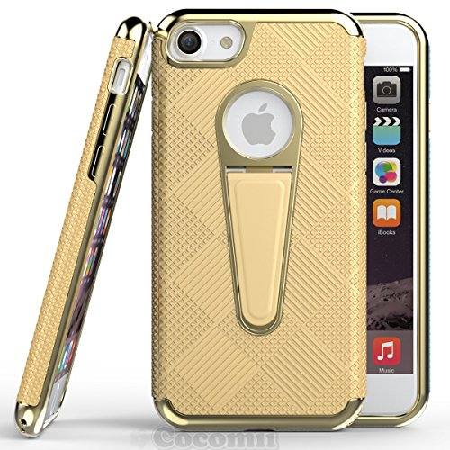 iPhone 6S Plus / 6 Plus Hülle, Cocomii Angel Armor NEW [Heavy Duty] Premium Tactical Grip Kickstand Shockproof Hard Bumper Shell [Military Defender] Full Body Dual Layer Rugged Cover Case Schutzhülle  Gold