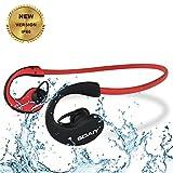 [Wasserdicht Version IP66] SOAIY® Bluetooth 4.0 Kopfhörer HD Stereo Headset